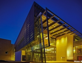 The Edith ODonnell Arts and Technology Building, known as ATEC, at the Universi