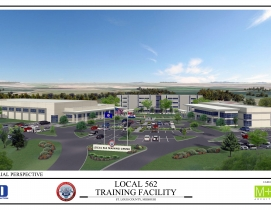 HBD Construction has been chosen to build a new $12 million training facility ca