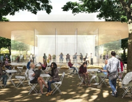 Design unveiled for Apple HQ visitor center