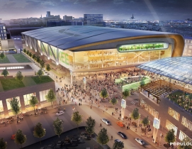 Design for new Milwaukee Bucks stadium is 'modest and modernist'