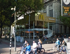 Rotterdam's 'ugliest building' turns into sleek McDonald's branch