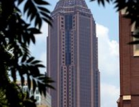 The Bank of America Plaza in Atlanta was taken back by its lender at a foreclosu