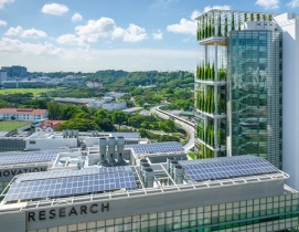 Singapore's CREATE facility is Lab of the Year 2013. Courtesy Perkins+Will.