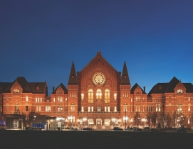 Cincinnati Music Hall exterior facade