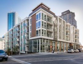 Nichiha adds distinctive edge to Atlanta luxury apartment building
