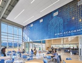 The 250,000-sf Lee Magnet High School