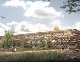 David Adjaye Architects, Rwanda, Africa, Architecture, Cancer Facility, Healthcare, Children, Pediatric