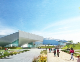 Preliminary Design for U.S. Olympic Museum Unveiled
