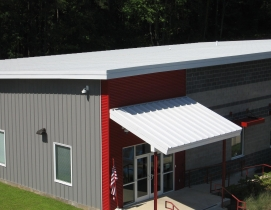 Mbci Coated Roof And Wall Panels Virtually Graffiti Proof Building Design Construction