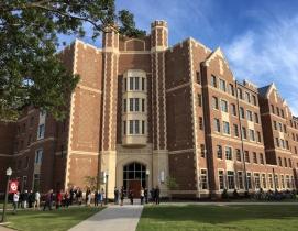 The exterior of Dunham College