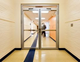 Fireframes Designer Series doors in Grim Hall