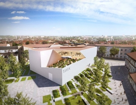 Daniel Libeskind unveils design for new Lithuanian modern art museum