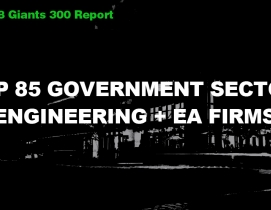Top 85 Government Sector Engineering + EA Firms [2018 Giants 300 Report]