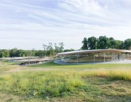 Sanaa-designed cultural center opens at Connecticut's Grace Farms