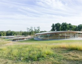 Sanaa-designed cultural center opens at Connecticut's Grace Farms