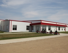 High Plains Equipment sells and services Case IH agricultural equipment at its n