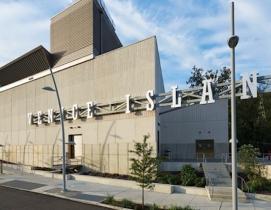 Exterior of the Venice Island Performing Art & Recreation Center