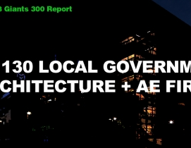 Top 130 Local Government Architecture + AE Firms [2018 Giants 300 Report]