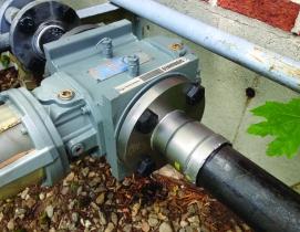 Liberty Utilities installs Viega MegaPress. Photo: Viega