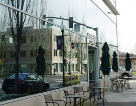 Starbucks stores are profiled in the report, as the company has opened 500-LEED