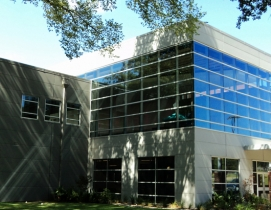 Texas church modernizes with metal wall panels