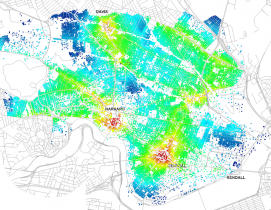 New city-modeling software quantifies the movement urban dwellers