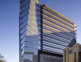 Opened in December 2010, the 13-story NRI facility was designed and constructed