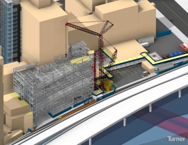 The virtual models and walkthroughs helped identify potential safety risks earli