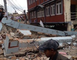 Widespread damage from Nepal earthquake due to poor implementation of building code