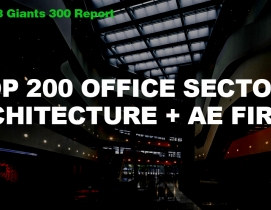 Top 200 Office Sector Architecture + AE Firms [2018 Giants 300 Report]