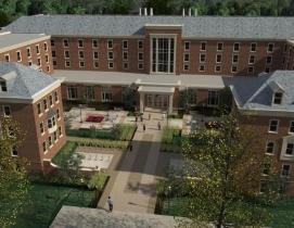 Rendering of the updated Pioneer Hall