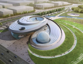 "Architecture based on ""astronomical principles"" for new planetarium in Shanghai"