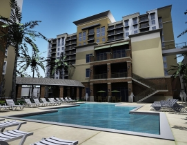 One Plantation wil have one-, two- and three-bedroom residences, as well as a 15