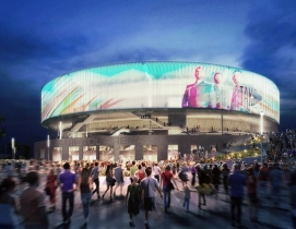 Populous design wins competition for Britains's most sustainable arena