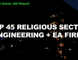 Top 45 Religious Sector Engineering + EA Firms [2018 Giants 300 Report]