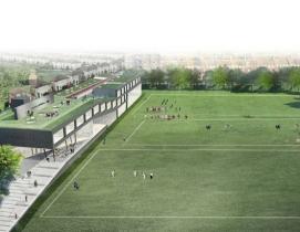 K - 12 Schools, college, Brighton, architecture, Rem Koolhaas, OMA