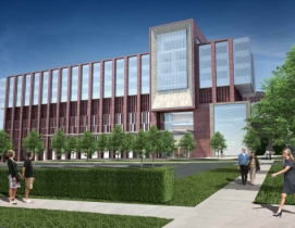 The design incorporates numerous sustainable initiatives and is striving for LEE