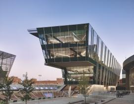 West Pavilion at Nippert Stadium