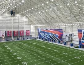 AdPro Sports Training Center, Buffalo N.Y. Photo: Kimberly Smith Photography, courtesy LPCiminelli