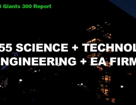 Top 55 Science and Technology Sector Engineering + EA Firms [2018 Giants 300 Report]