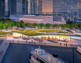 Winning design for Toronto ferry dock poised to be city's new living room
