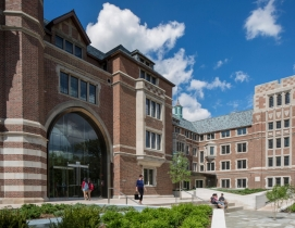 University of Chicago's uses space economically with Saieh Hall