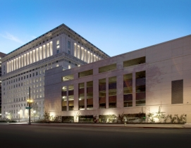 Los Angeles's Hall of Justice gets a reprieve