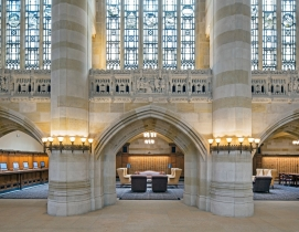 Nave restored at Yale's Sterling Memorial Library