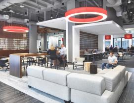 Coca-Cola's Workplace 2020 project, Atlanta, designed by Gentler. Photo: Garrett Rowland