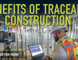 Sponsored webinar: Benefits of traceable construction