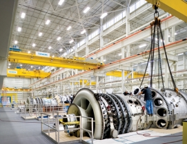 The Siemens Gas Turbine manufacturing plant and office complex, Charlotte, N.C.