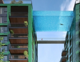 Sky Pool, Swimming Pool, Residential, high-rise, apartment