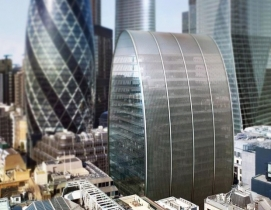 "London goes through with Foggo Associates' ""can of ham"" building"
