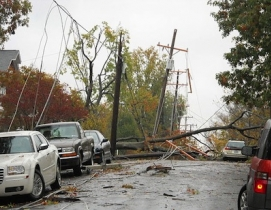 Atermath of SuperStorm Sandy, Arlington, Va. Photo: Albert Herring / Wikimedia C